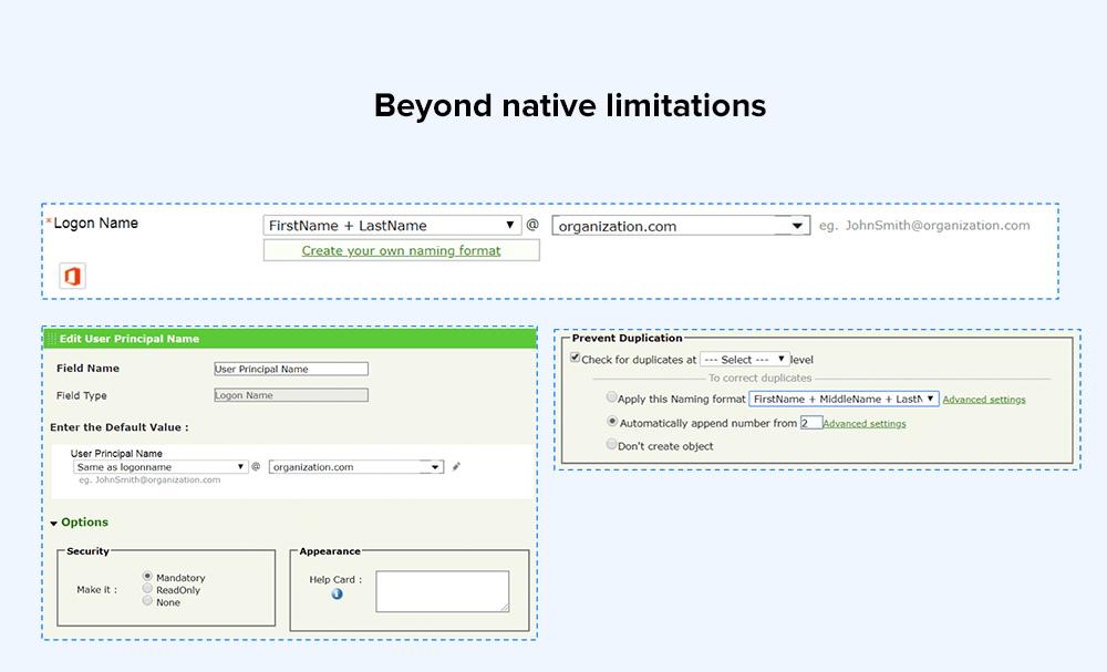 Beyond native limitations