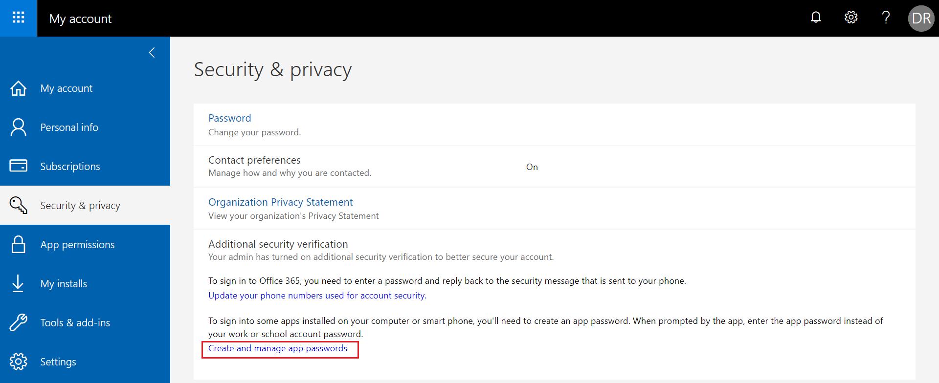 configure-office-365-tenant-using-app-password4