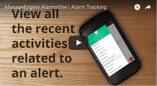 Seguimiento de alarmas