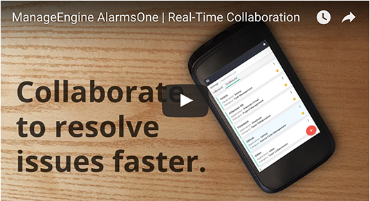Collaborate to resolve issues faster.