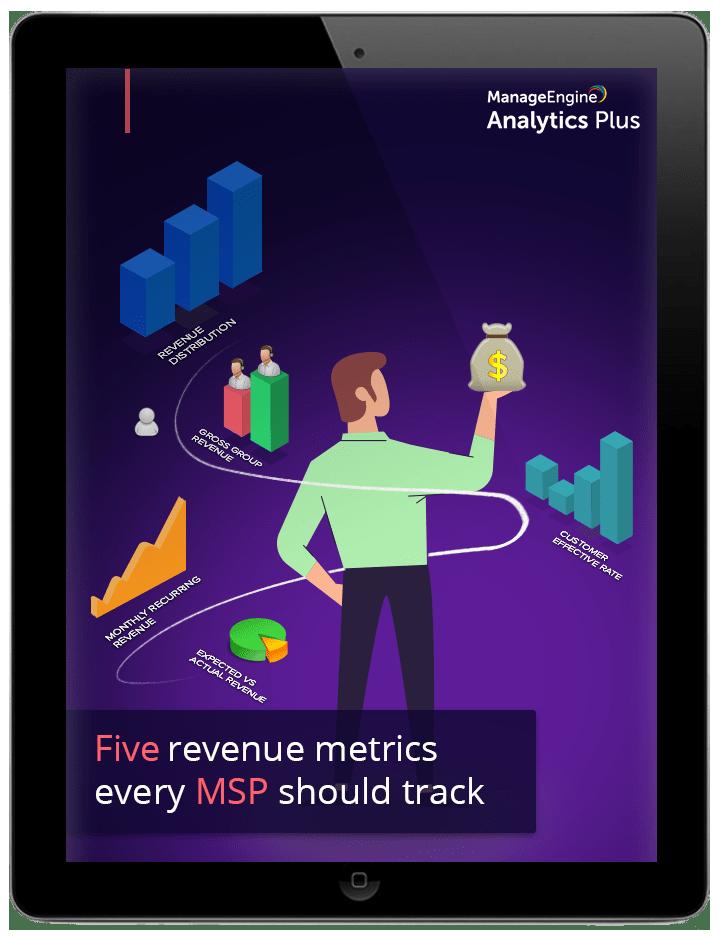 Five revenue metrics every MSP should track.