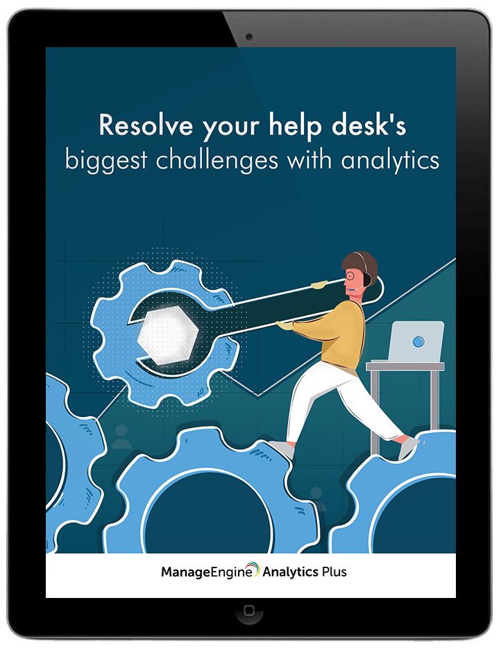 Resolve your help desk's biggest challenges with analytics