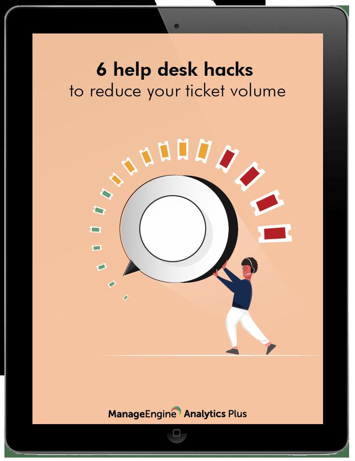 6 help desk hacks to reduce your ticket volume
