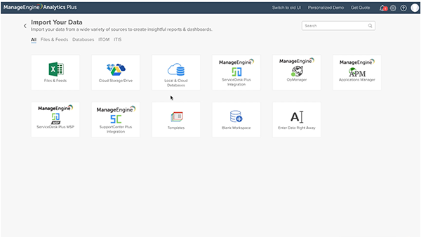 A quick walk-through of the Analytics Plus user interface