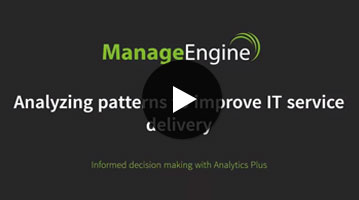 Analyzing patterns to improve IT service delivery