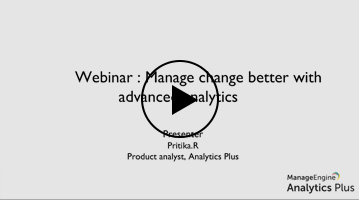 Manage change better with advanced analytics