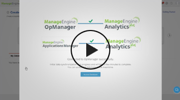 Integrating Analytics Plus with ManageEngine OpManager or Applications Manager