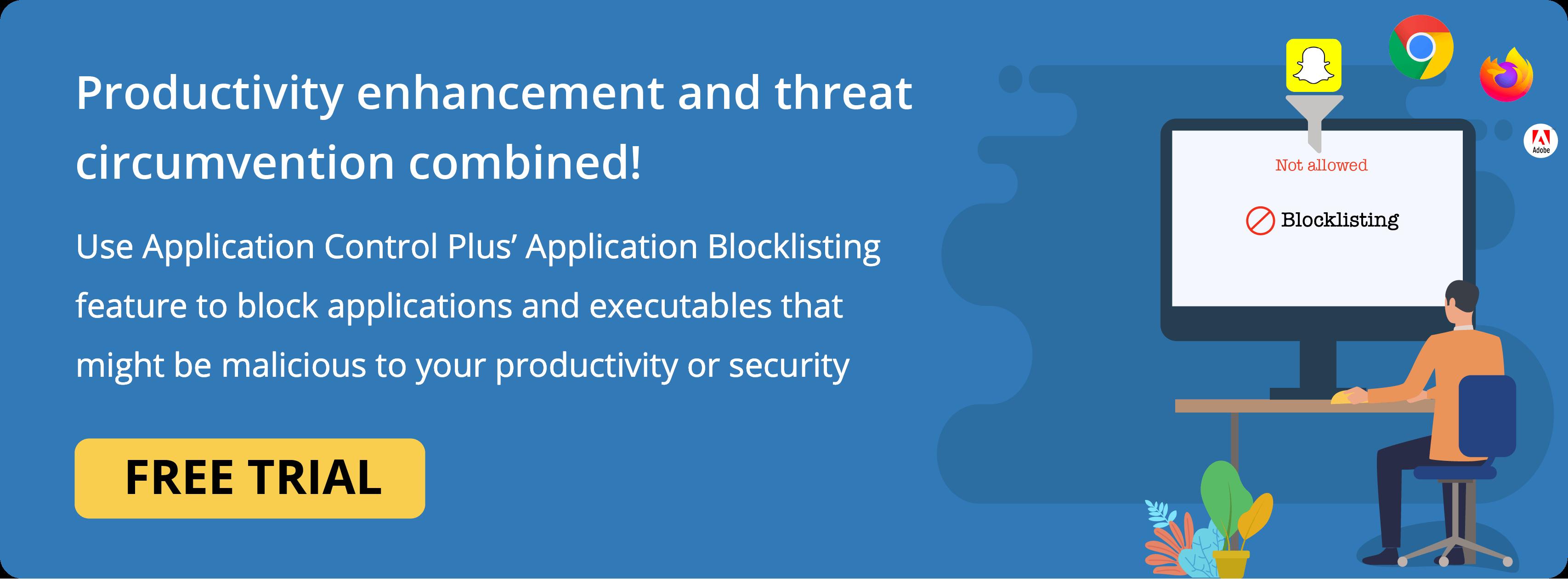 Application Blacklisting Software