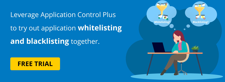 Whitelist vs blacklist
