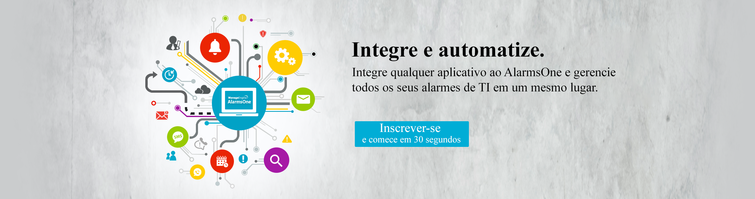 Integrate any application with AlarmsOne