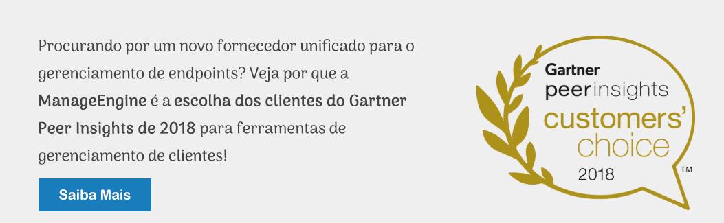 Gartner Peer insights customer's choice 2018