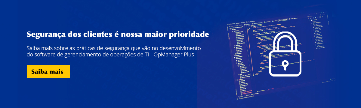 ITOM OpManager Plus Banner