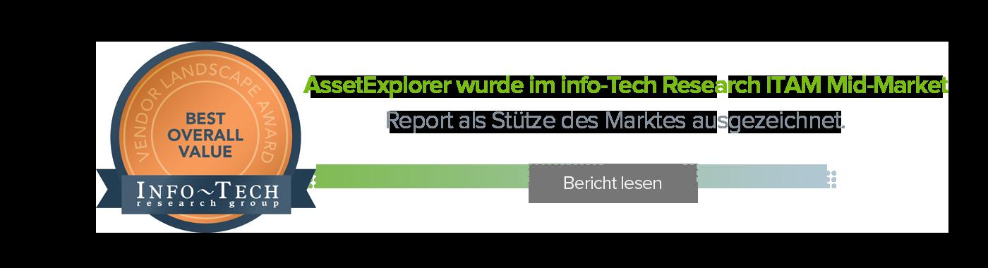 Info-Tech Research ITAM Mid-Market Report