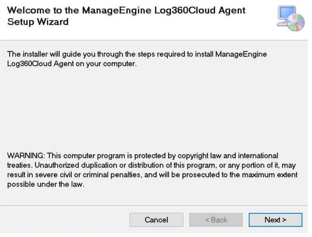 Log360 Cloud Security Access Key