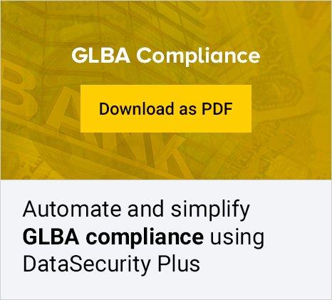 file server glba compliance tool