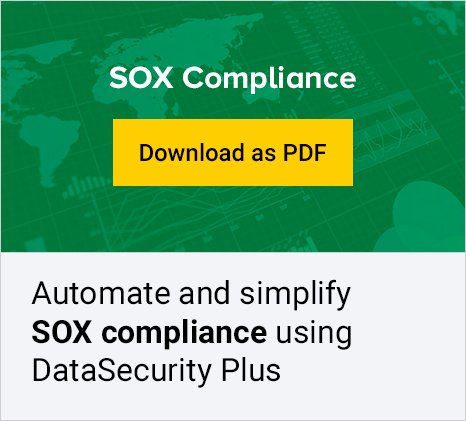 file server sox compliance tool