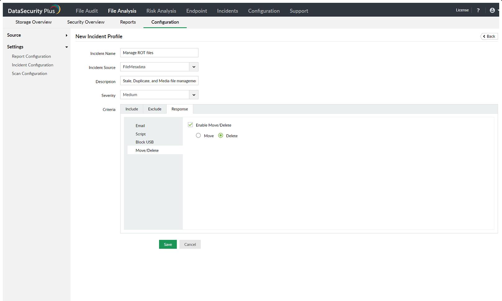 manage ROT data