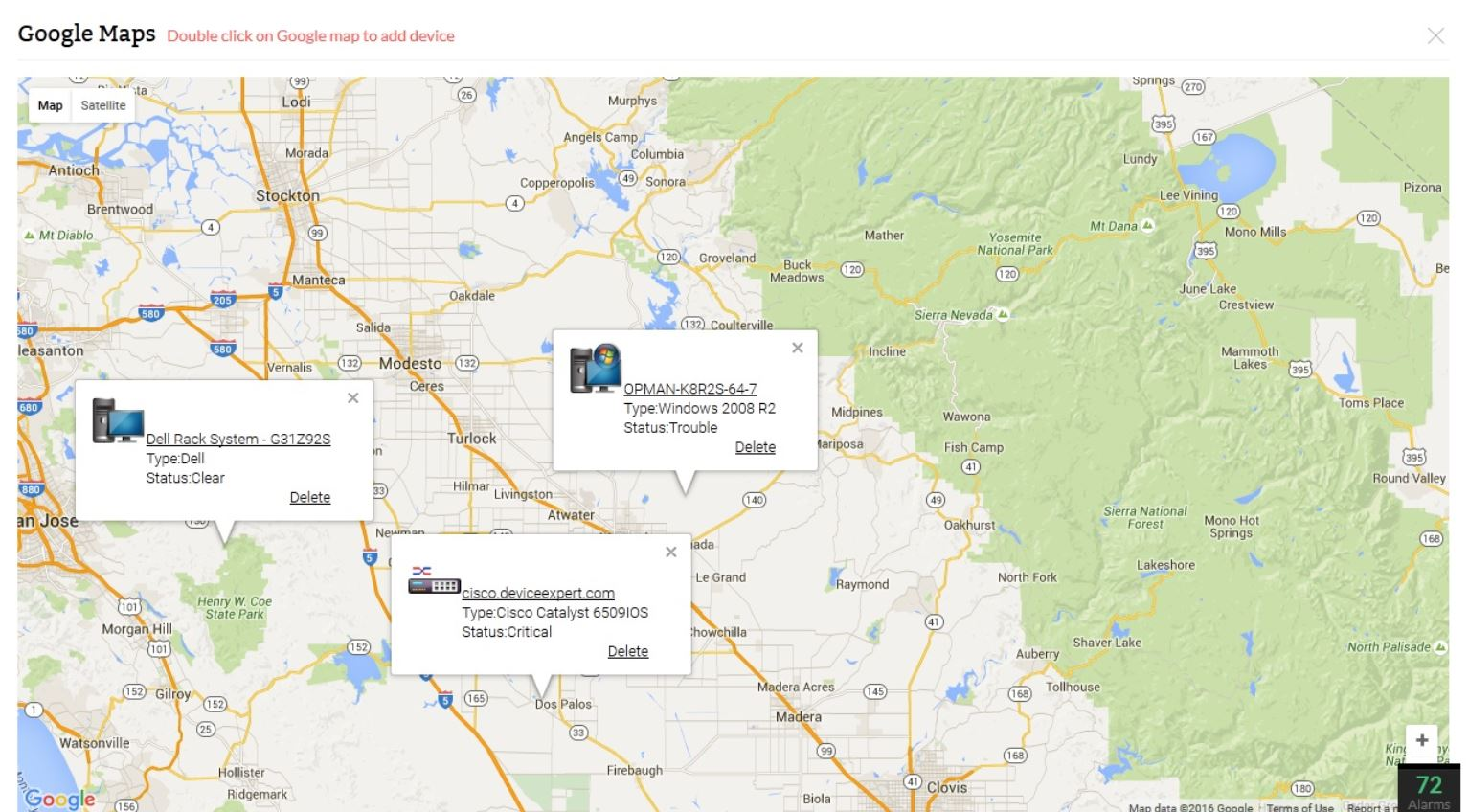 Netzwerk Mapping System - ManageEngine OpManager