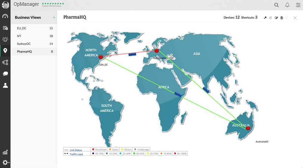 netzwerk überwachung tool - ManageEngine OpManager