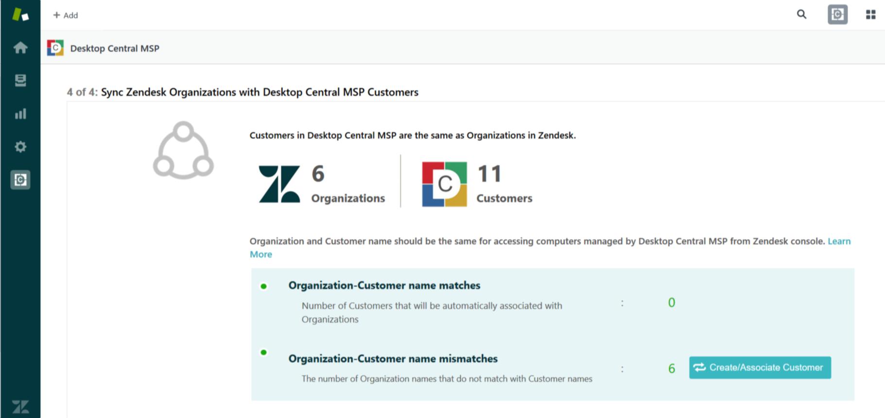 Customer-Organization Mapping