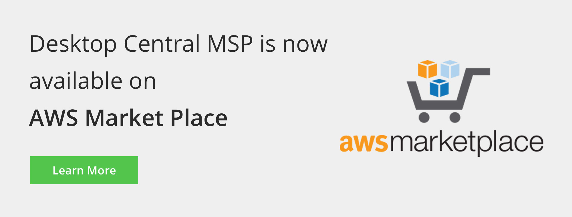 Desktop Central MSP is now on AWS