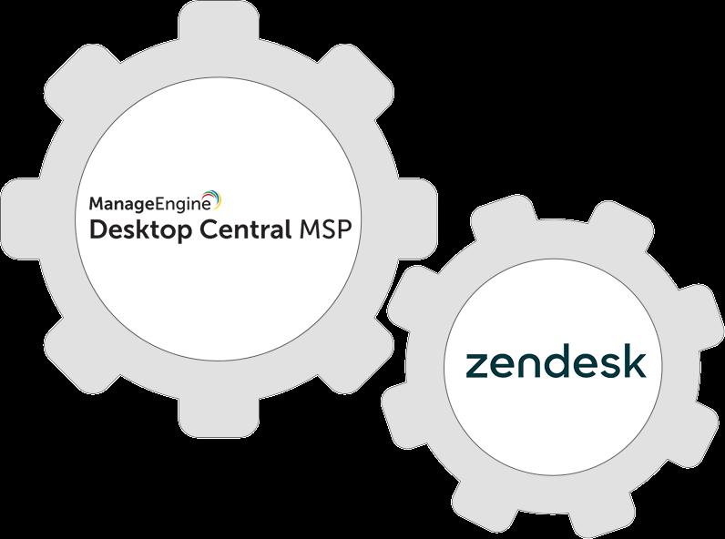 Integrate Desktop Central with Zendesk to start delivering enterprise-class customer support.