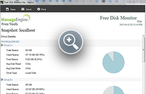 Disk Space Utilization - ManageEngine Free Tools