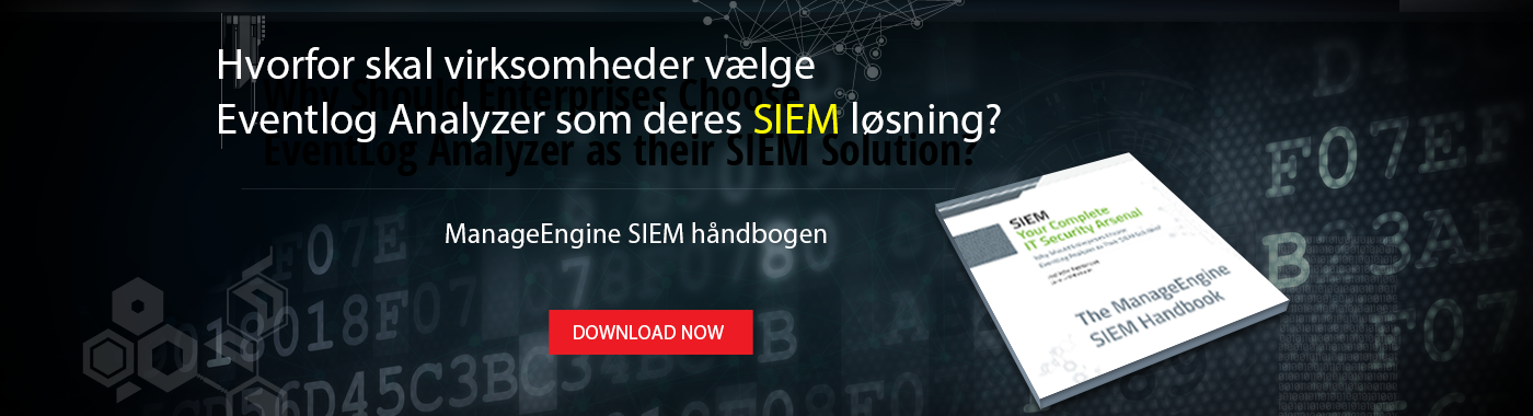 ManageEngine SIEM Handbook