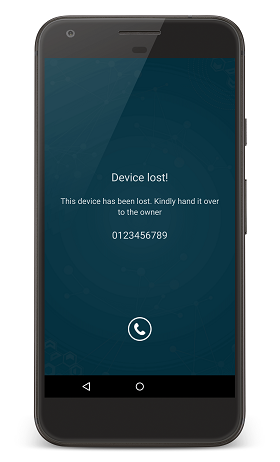 Ensuring BYOD security with Lost Mode