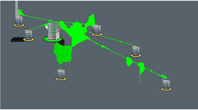Coğrafyalara dağılmış tüm ağ altyapınızı tek bir konumdan yönetin.