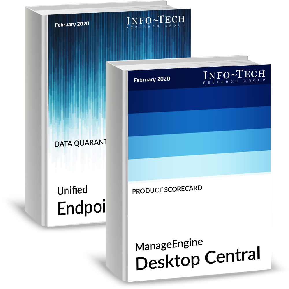 Desktop management services - ManageEngine Desktop Central