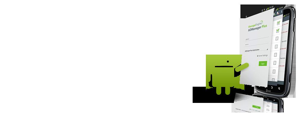 Aplicación de ADManager Plus para Android