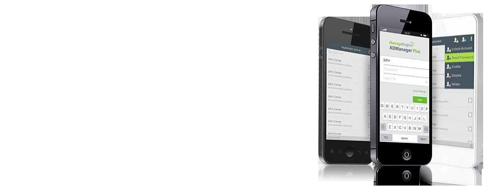 ADManager Plus iPhone App