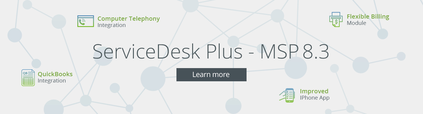 IT help desk software MSP
