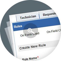 Personalización de formularios de solicitudes de servicios e incidentes