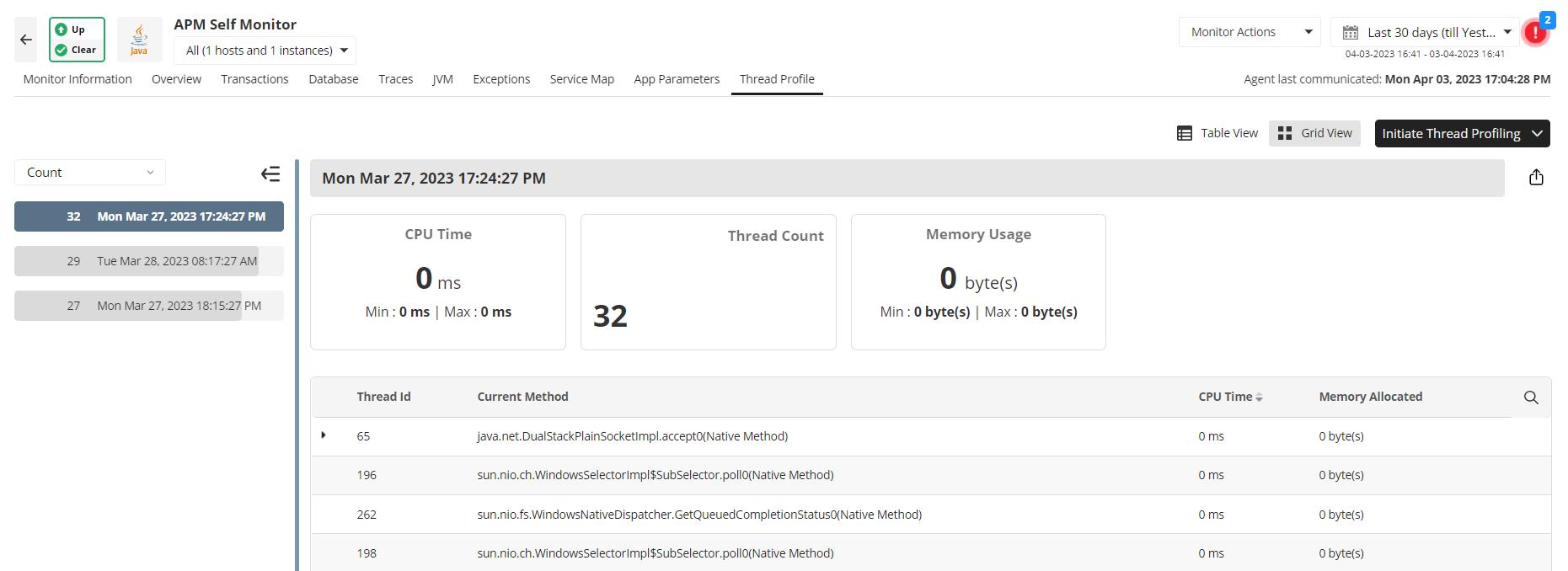 Monitoring Node JS - ManageEngine Applications Manager