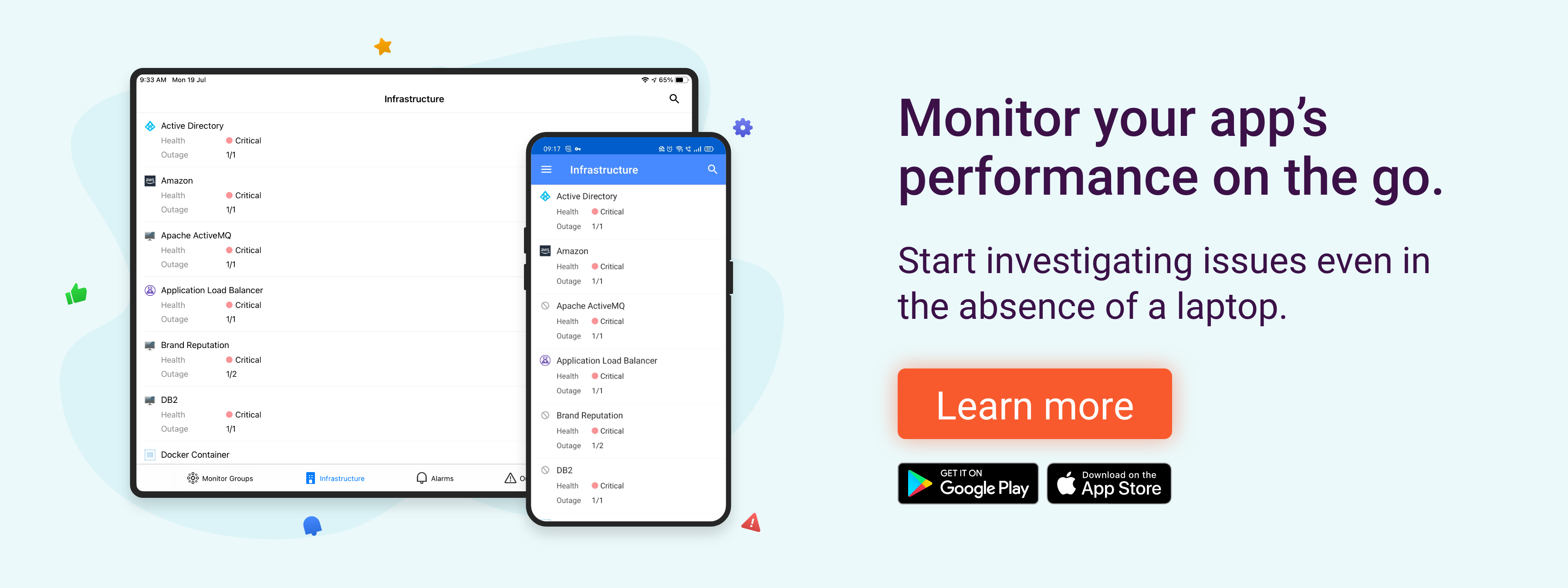 Monitor App Performance - ManageEngine Applications Manager