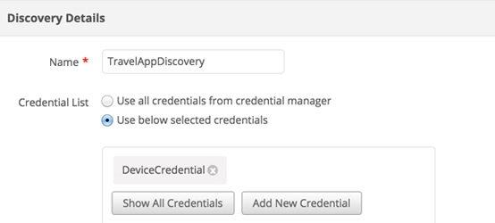 Discover resources faster with Application Discovery Dependency Mapping - ManageEngine Applications Manager