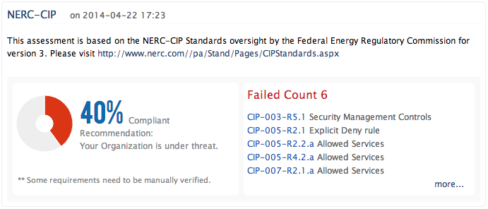 NERC CIP Compliance Reports - ManageEngine Firewall Analyzer