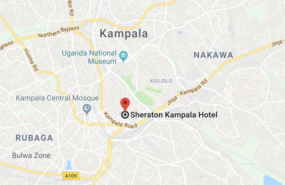 Sheraton Kampala Hotel, Uganda