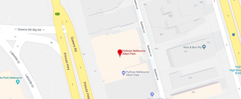 State Room 3, Level 1,Pullman Melbourne Albert Park,65 Queens Rd,Albert Park VIC 3004