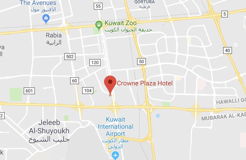 Hotel Crowne Plaza, Kuwait