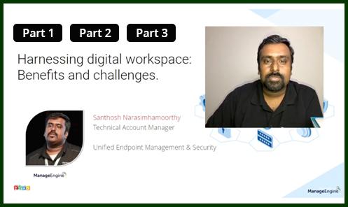 Harnessing the digital workspace webcast