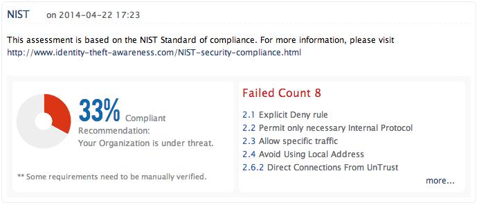 Directives du NIST sur les pare-feu et les politiques de pare-feu - ManageEngine Firewall Analyzer