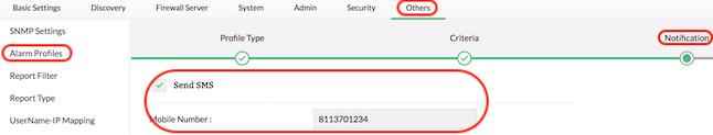Alert Threshold - ManageEngine Firewall Analyzer
