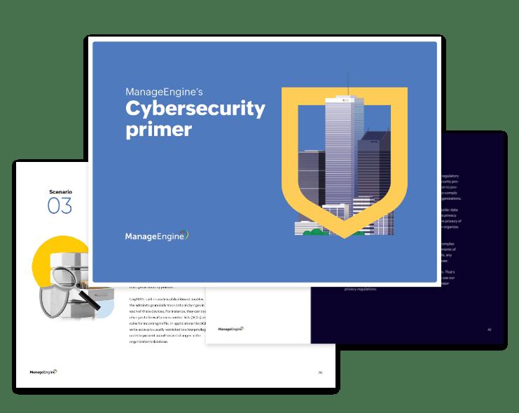Téléchargez leguide des solutions de cybersécuritéde ManageEngine