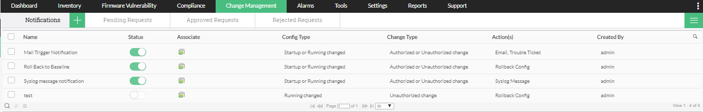 Aruba Access Point Configurations - ManageEngine Network Configuration Manager