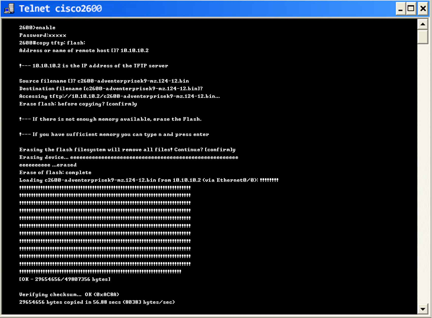 Upgrade Firmware - ManageEngine Network Configuration Manager