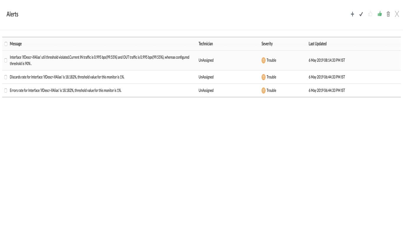 UPS Interface Monitoring