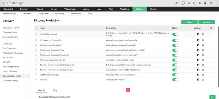Préparez votre environnement Cisco à la gestion pendant la découverte - ManageEngine OpManager